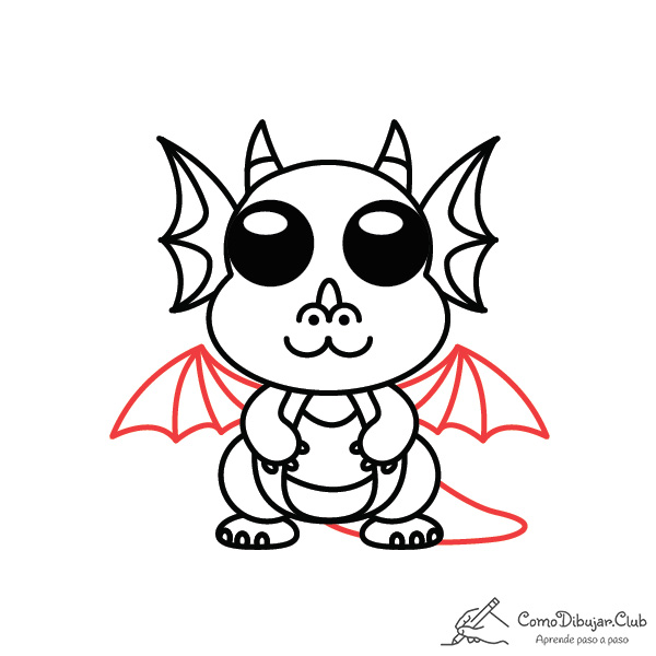 dibujo-dragon-kawaii-facil-tutorial