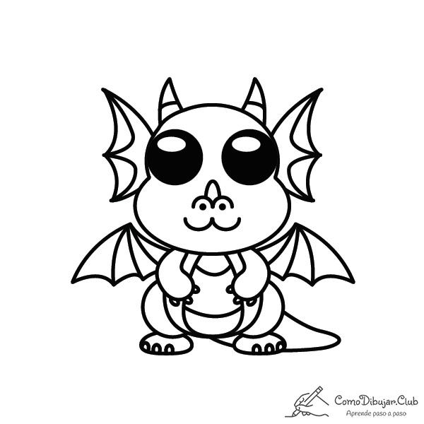dragon-kawaii-colorear-imprimir-dibujo