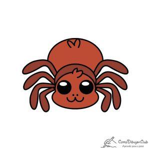 araña-kawaii