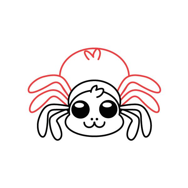 araña-kawaii-chibi