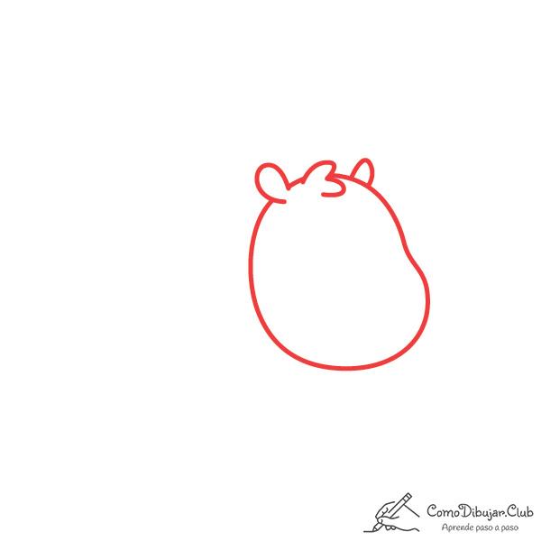 dibujar-cabeza-capibara-kawaii
