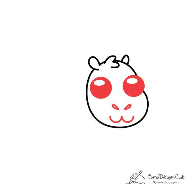 dibujar-capibara-kawaii-facil